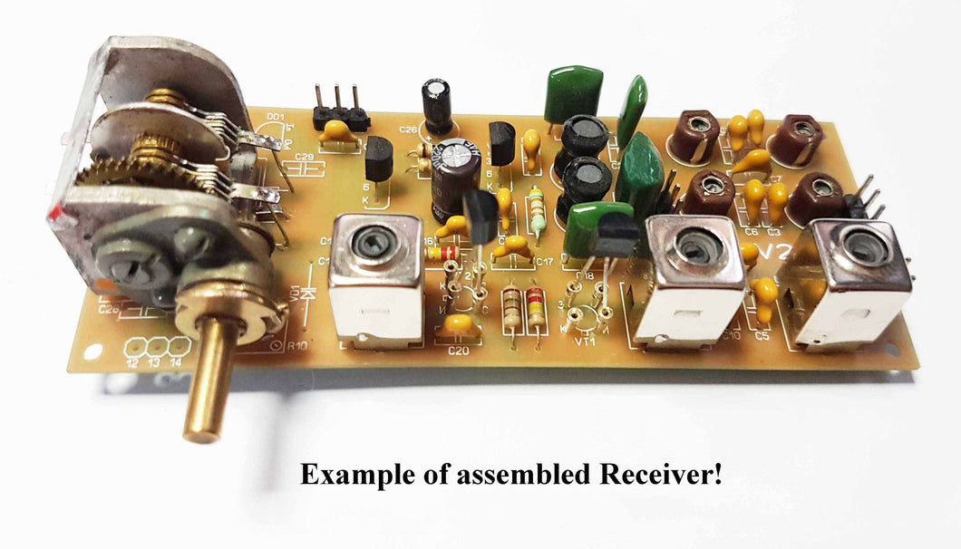 Simple 3-band Amateur radio receiver direct conversion 7, 14, 21 MHz