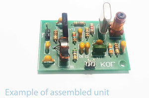 Beat-frequency oscillator (BFO) on XTAL for homebrew transceiver/receivers