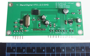 Single band DDS VFO Synthesizer 1..160 MHz.