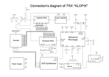 "Load image into Gallery viewer, Amateur Transceiver ""KLOPIK"""