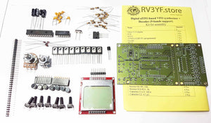 DDS VFO Synthesizer 0..30 MHz, 9 bands + decoder for HF Transceiver