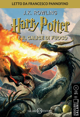 Harry Potter e il Calice di Fuoco - Audiolibro CD MP3: 4