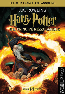 Harry Potter e il Principe Mezzosangue. Audiolibro. CD Audio formato MP3: Harry Potter e il Principe Mezzosangue - Audiolibro CD MP3: 6