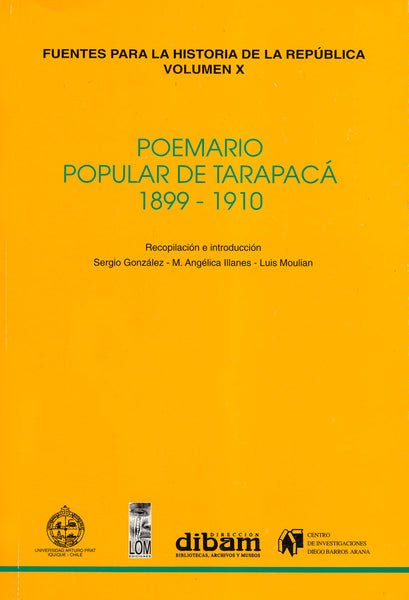 Poemario popular de Tarapacá 1899-1910