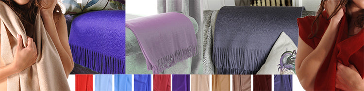 Cashmere Stoles and Throws