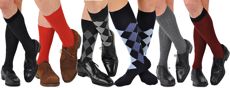 Mens Cashmere and SuperLuxe Socks