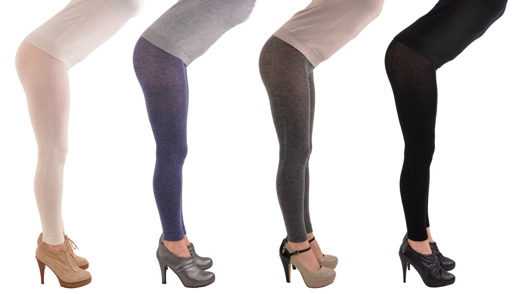 Incomparable, Exclusive, 100% Pure Cashmere Ultimate Leggings - RARE!