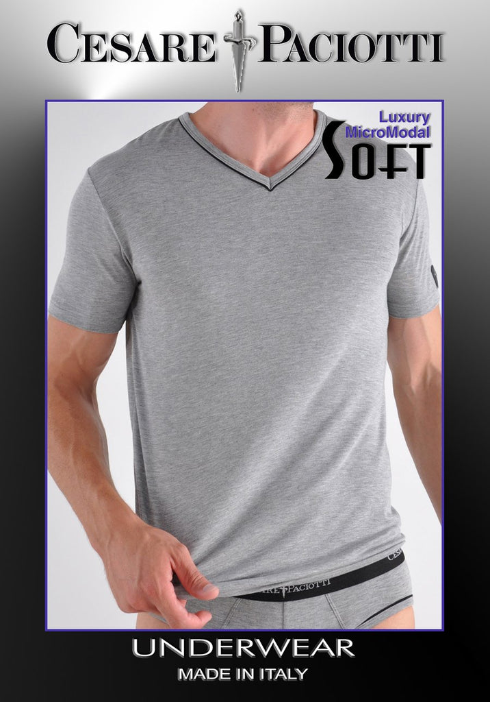 Soft MicroModal V-Neck T-Shirt/Undershirt