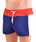Men's Italian Style Swim Boxer Trunks
