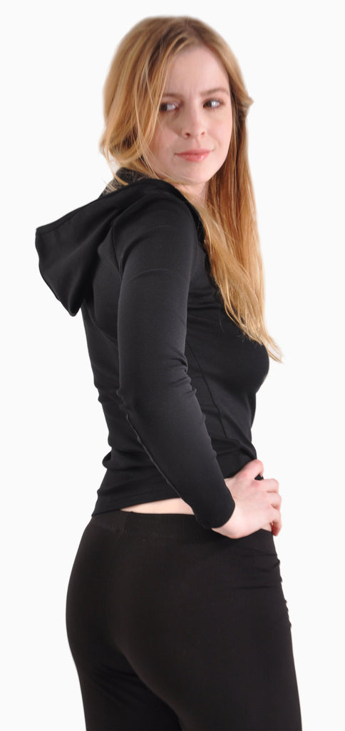 Pure Grace Hoodie in Black with our Paciotti Leggings