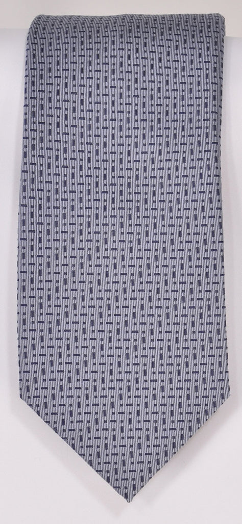 Classic Kabbaz-Kelly Exclusive Limited Edition: Lt. Blue Neat Handmade Italian Silk Necktie