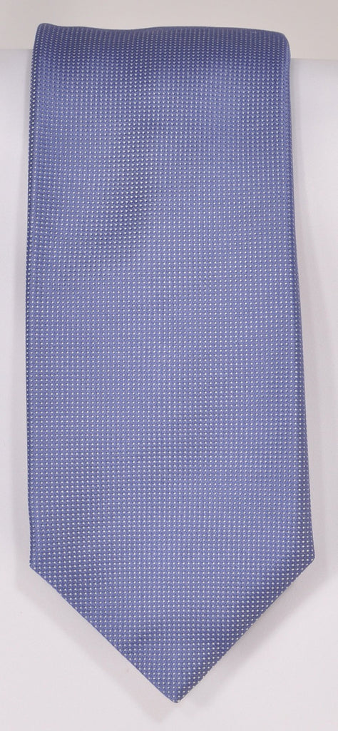 Classic Kabbaz-Kelly Exclusive Limited Edition: Lt. Blue Solid Handmade Italian Silk Necktie