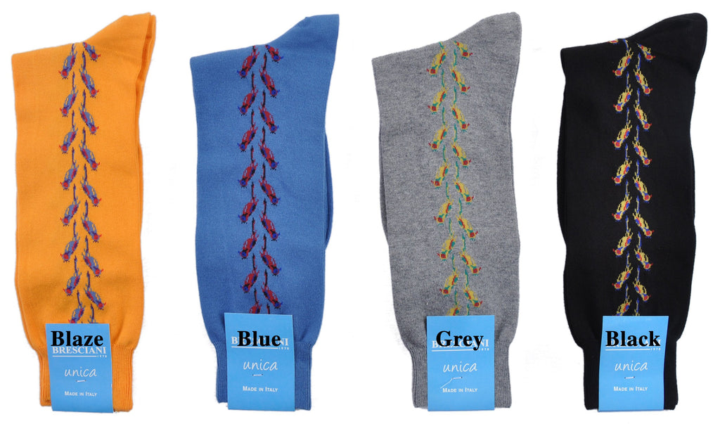 Limited Edition Exclusive Flights of Fancy Mid-Calf Fun Socks