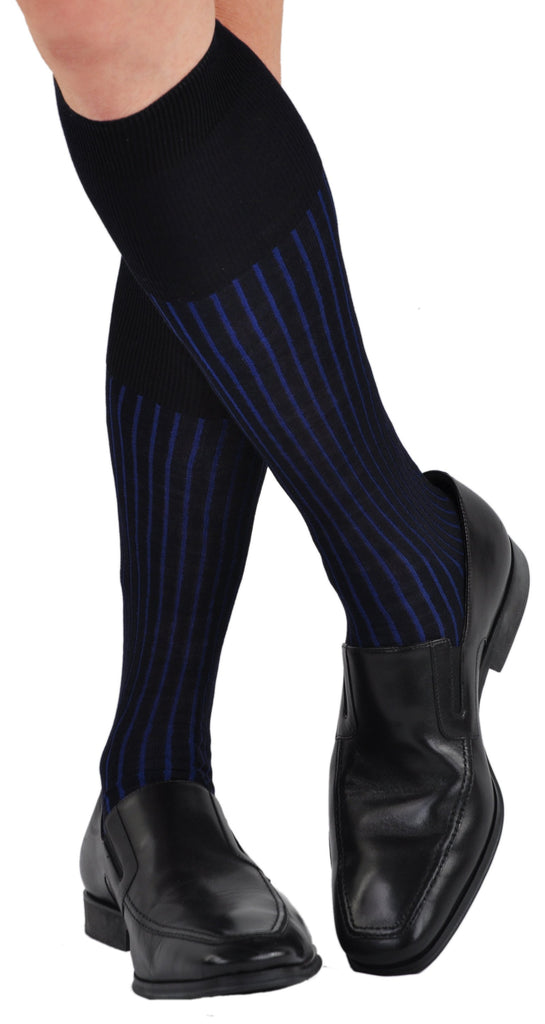 Navy/Royal as a Dress Sock