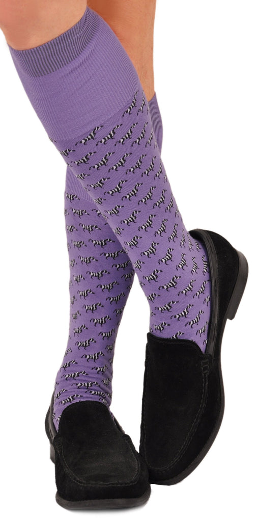 Over-the-Calf in Purple