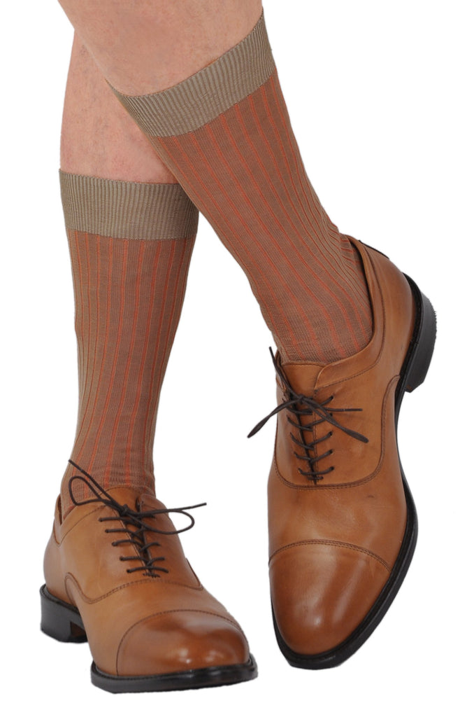Mid-Calf Shown in Tan/Ginger