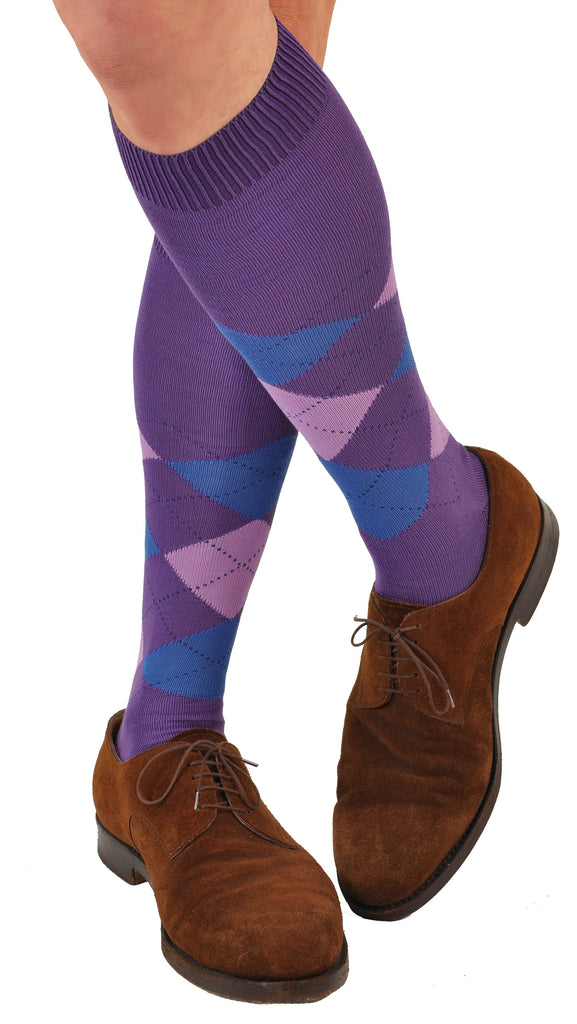 Purple (Shown Over-the-Calf Length)