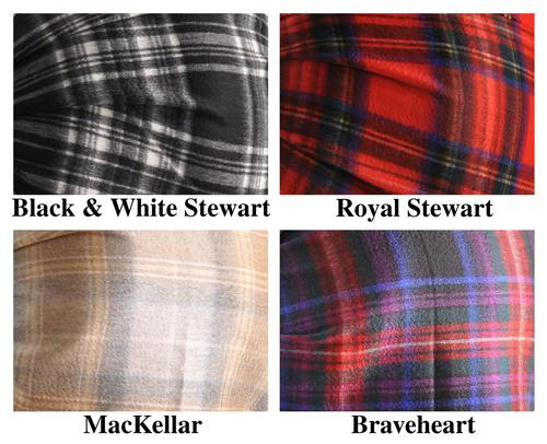 Begg Large Cashmere Scarf from Scotland-Tartan Plaids