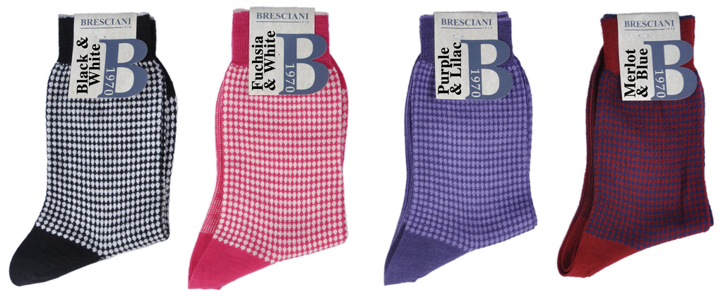 Limited Edition Women's Merino/Cotton Fun Dots Ankle Socks