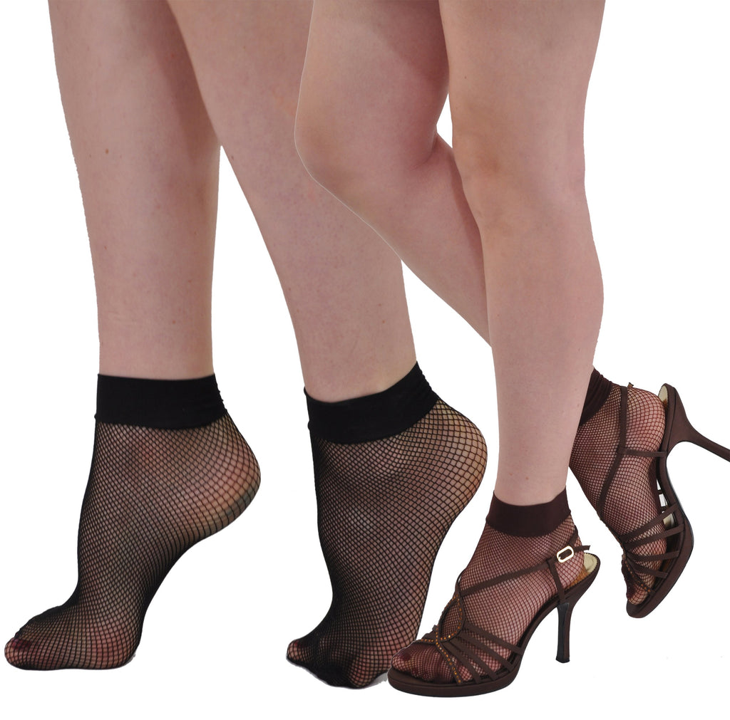 Gerbe-Paris Reselle French Fashion Fishnet Ankle Sock