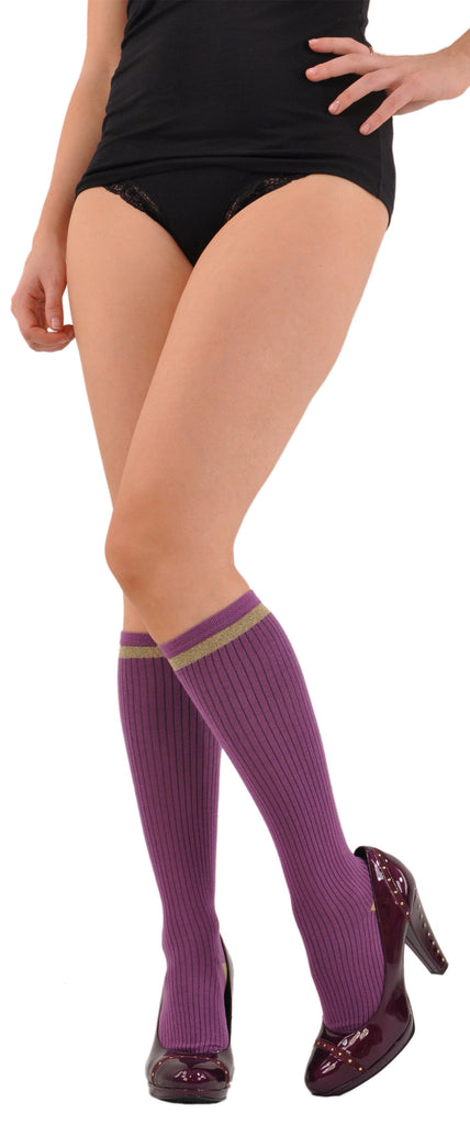 Amethyst Knee-highs