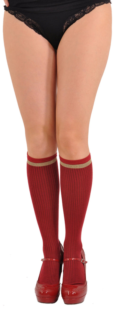 Ruby Knee-highs