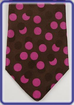Seward and Stearn Hand Made English Silk Necktie