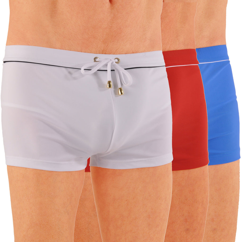 Men's James Bond Style Swim Boxer