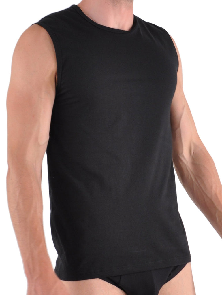 Fashionable Cotton Muscle Tank Shirt