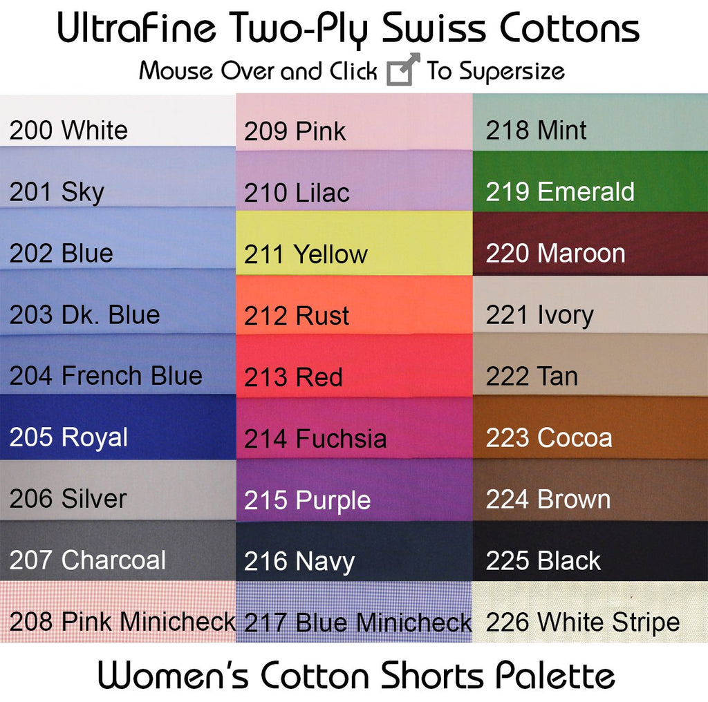 Solid Color Cotton Selector Fabrics S01