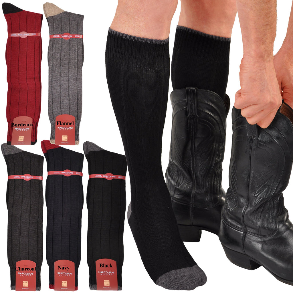 Supersoft Over-the-Calf Merino Casuals - Great Boot Socks!