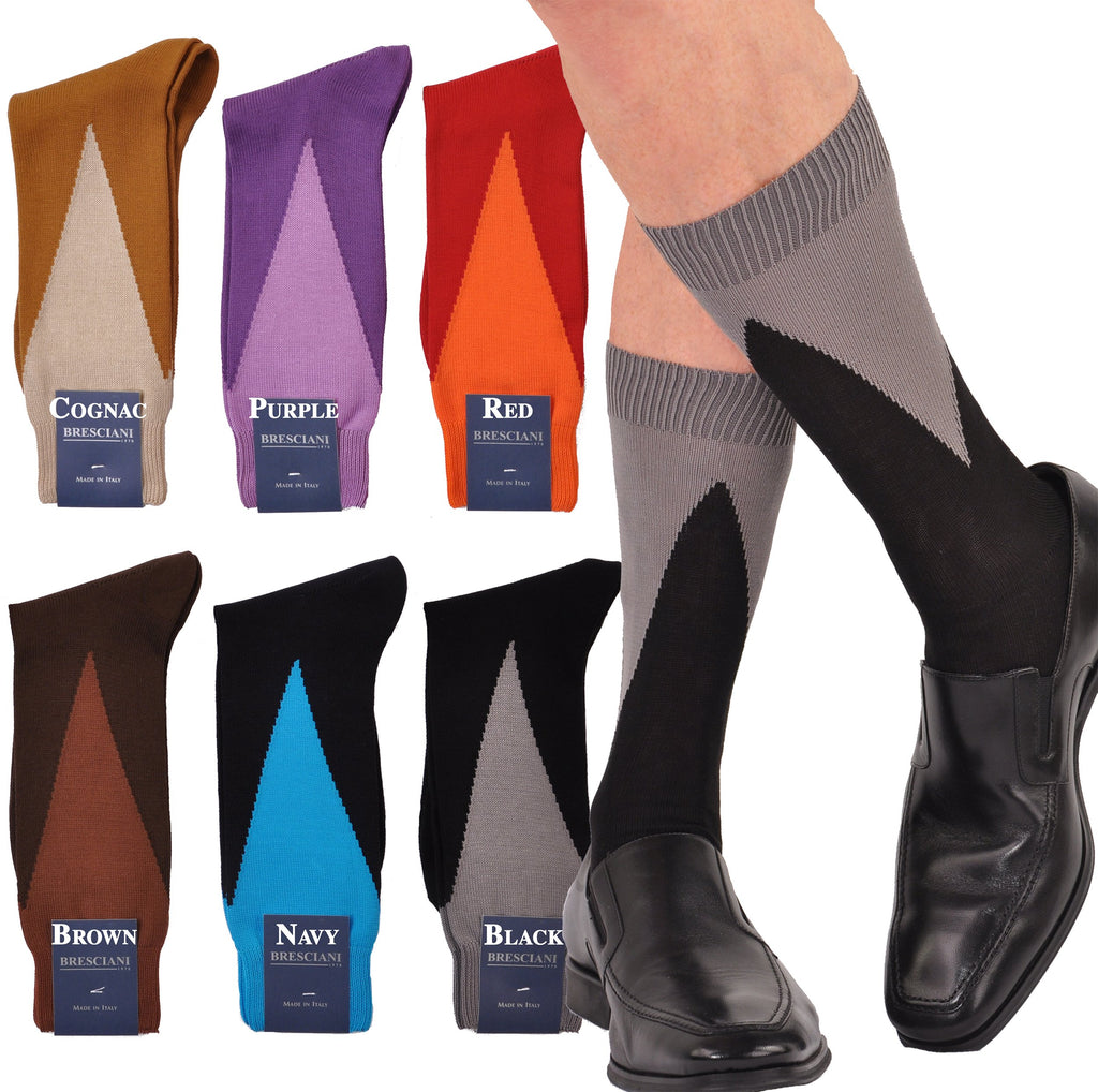 Trianglations Soft Cotton Mid-Calf Socks