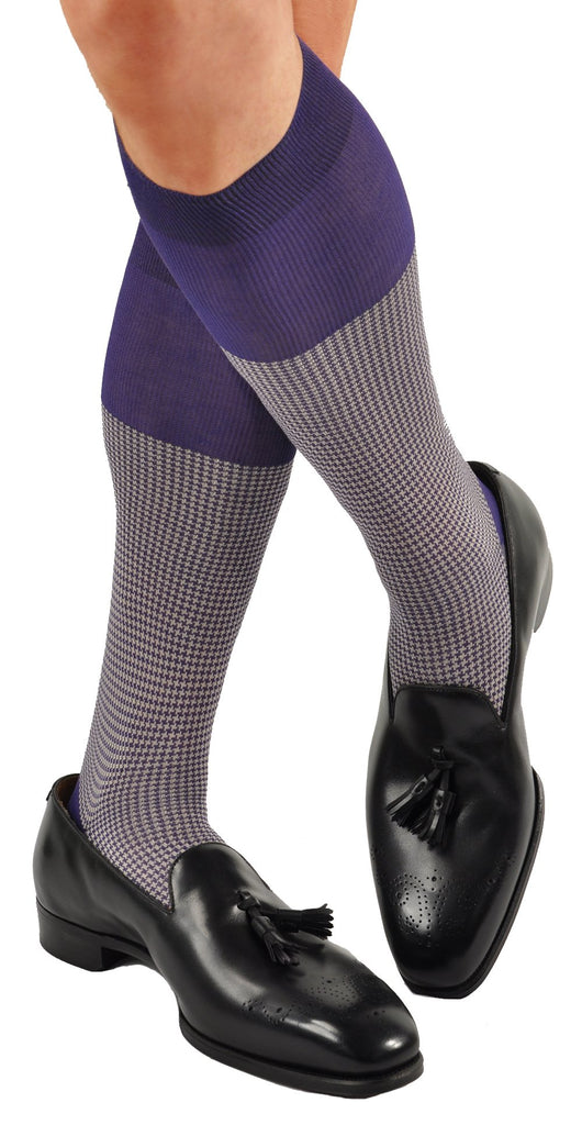 Purple (Shown in Over-the-Calf Version)