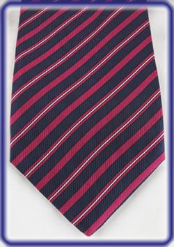 Seward and Stearn Printed English Silk Necktie