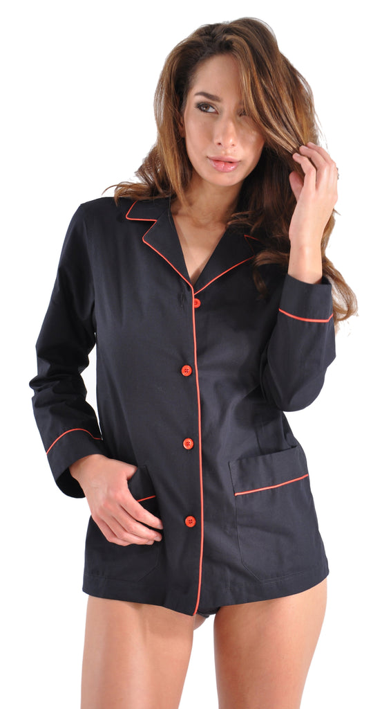 Exclusive: Our Own Ultrafine Italian Cotton Womens Pajamas