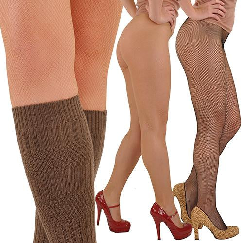 Gerbe-Paris Reselle Fine Fishnet Seamless French Pantyhose Tights