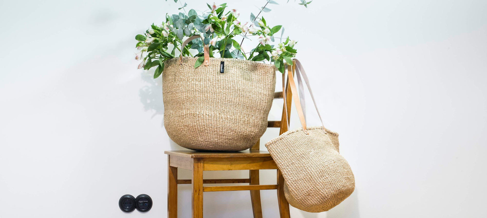 Eco-friendly baskets made of paper