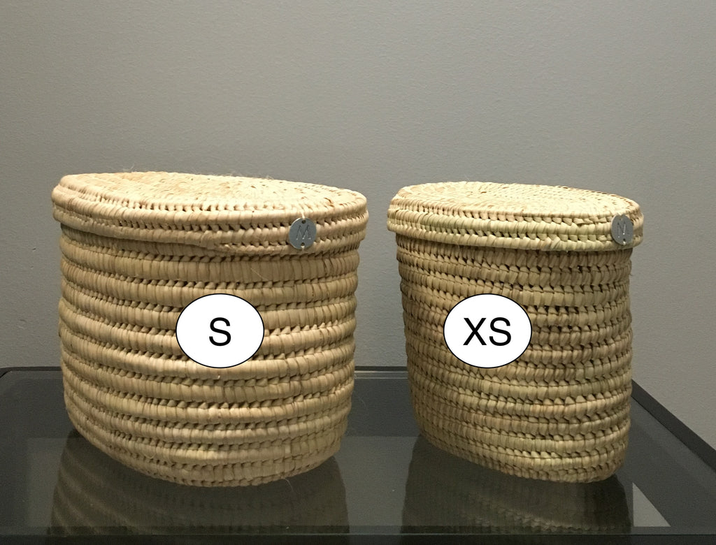 Turkana XS and S baskets