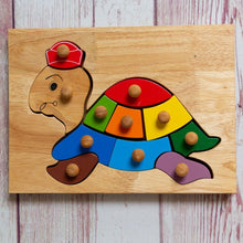 Load image into Gallery viewer, Turtle Knob Puzzle