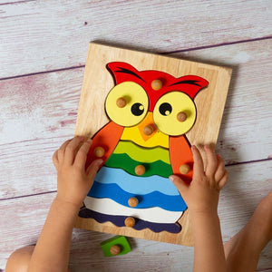 Wooden Owl Puzzle