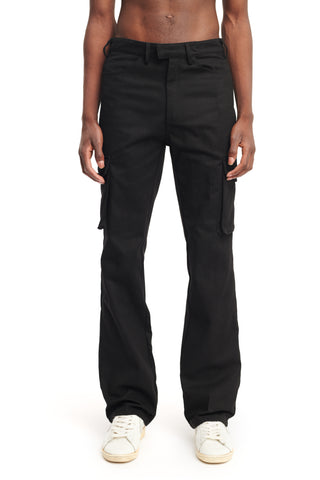 "FLARED CARGO PANTS ""INK"""