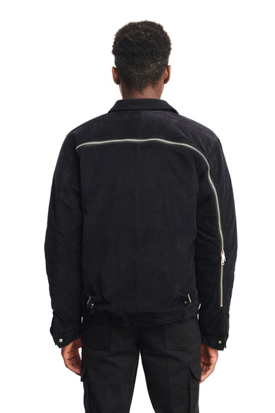 "BACKZIP WORK JACKET ""INK"""