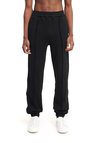 "PLEATED JOGGERS ""INK"""