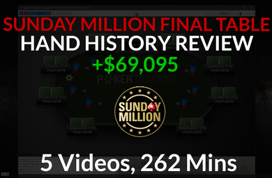 Sunday Million 5th Place HH Review - MTTMastery