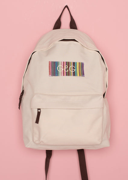 G&G Unisex Vintage patch Backpack