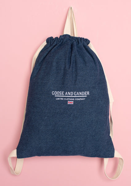 G&G Unisex LTD Denim gymsac
