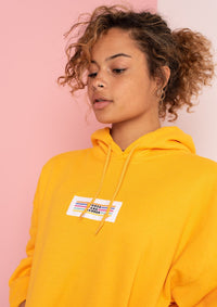 Unisex Original Lino Patch Hood, Yellow Gold | Goose & Gander