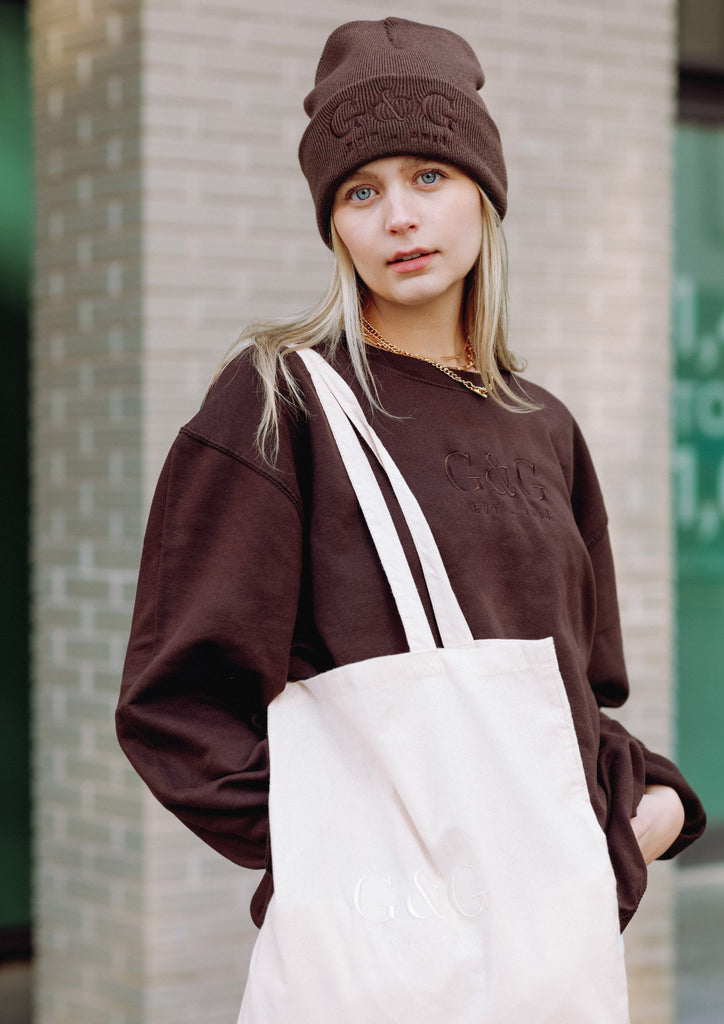 Unisex Sepia Sweat, Brown | Goose & Gander