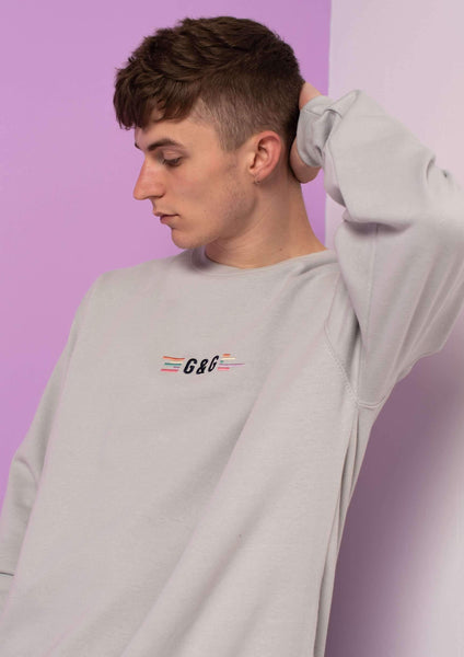 Unisex Pastel Sound Sweat Em, Moondust Grey | Goose & Gander
