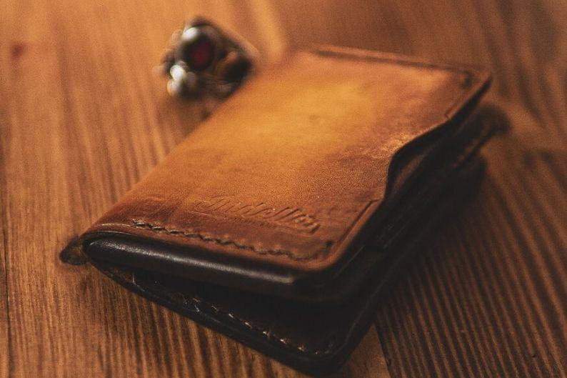 Surrogate Trifold Handmade Leather Wallet